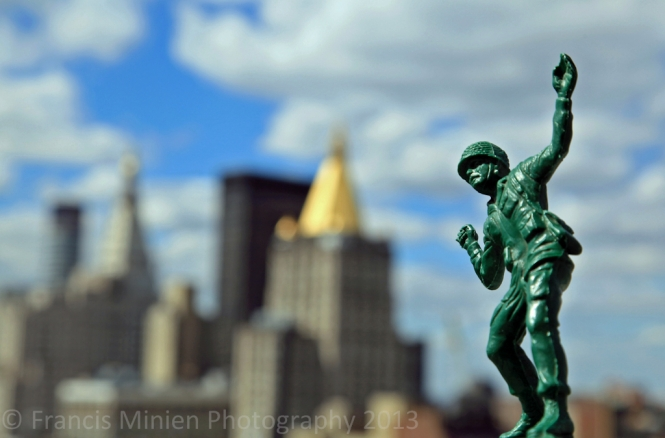 Big Town Little Soldier  by Francis Minien