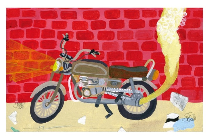 Speedy Motorcycle;  Keith Greiman (From  Tiny Showcase )