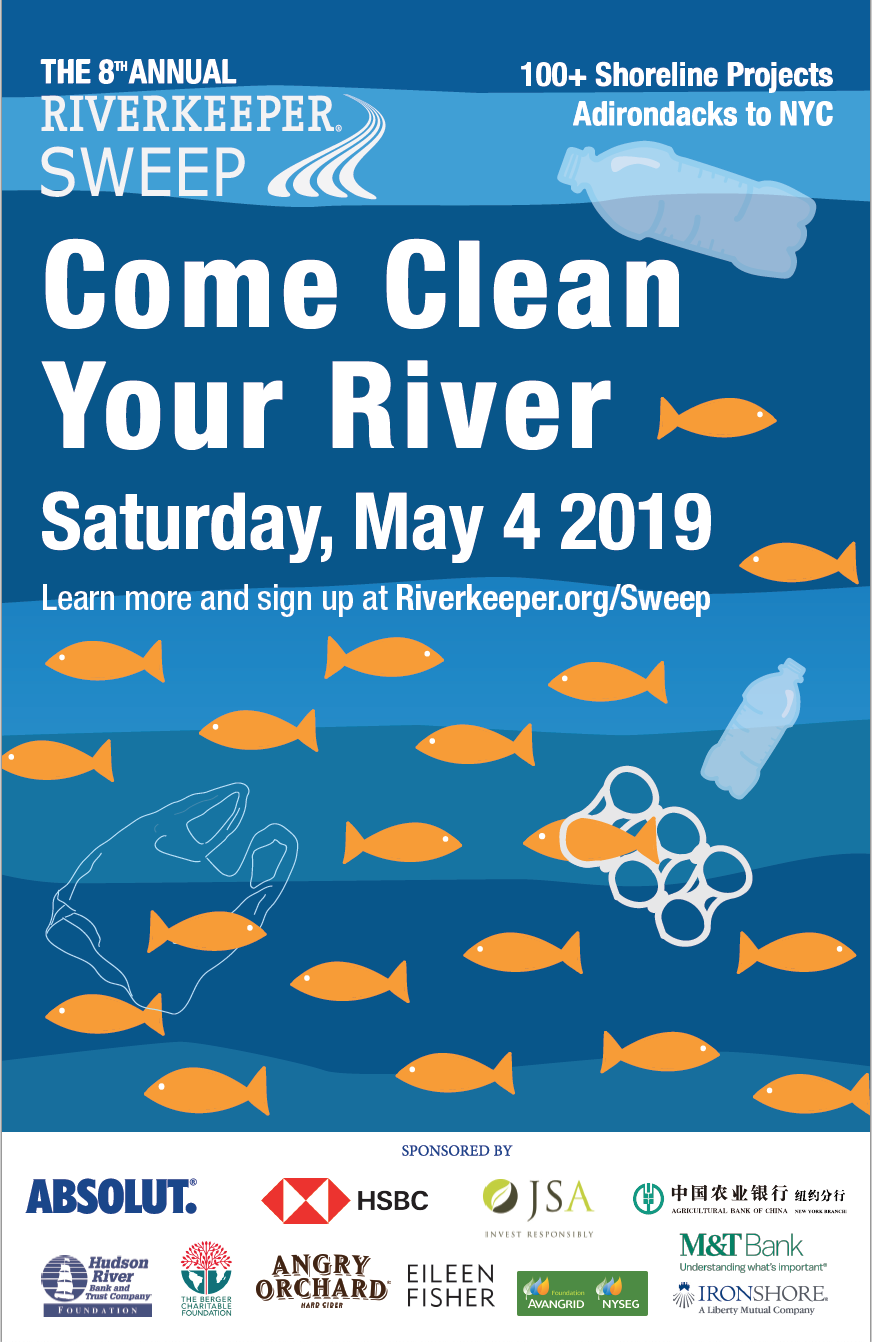 8th annual Riverkeeper Sweep — Strong Rope Brewery®