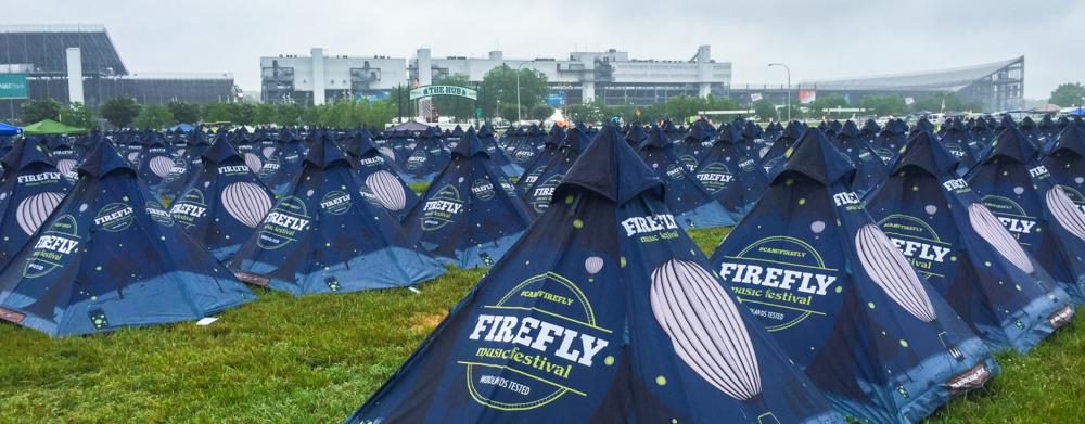Tent City !!