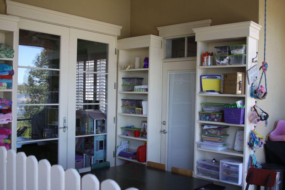 Custom Built Bookcases