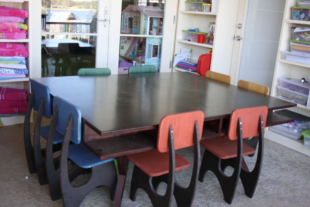 Kids Storage Craft Table with Chairs