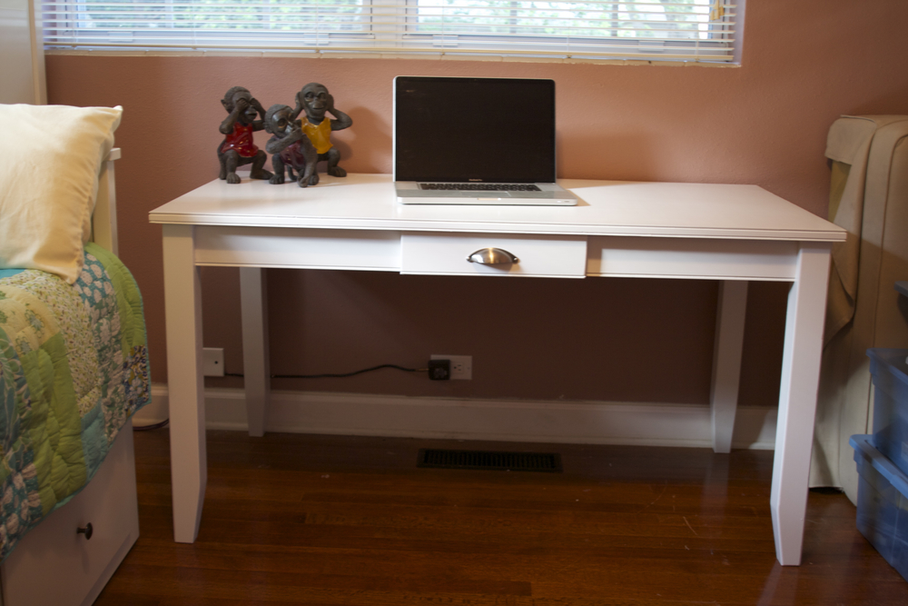 Custom Built Desk - Pottery Barn Design