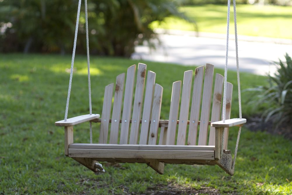 Kids Adirondack Chair Swing - Double Size