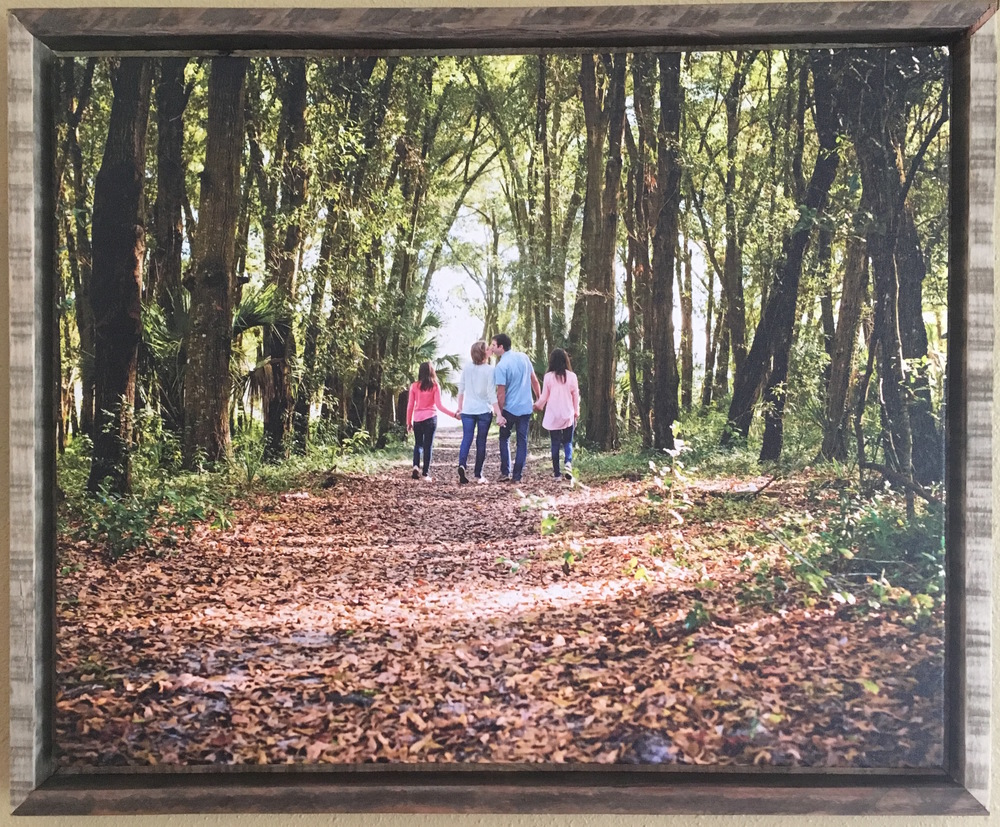 Canvas Print Frame - Pallet Wood