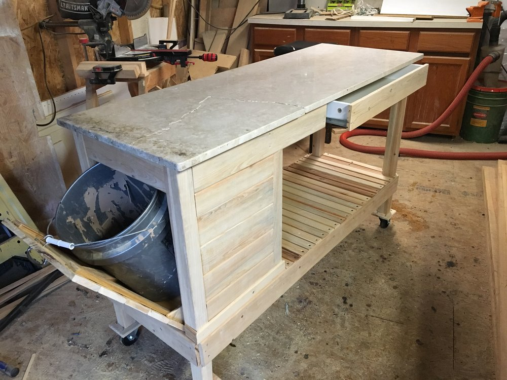 Garden Tool Bench