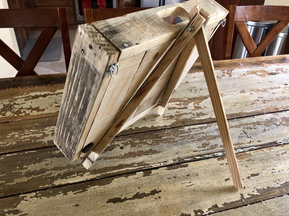 Custom Cork Holder - Pallet Wood