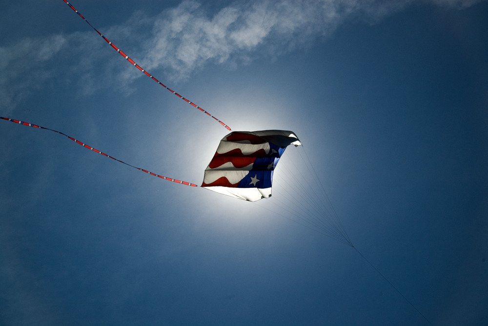 Patriotic Kite