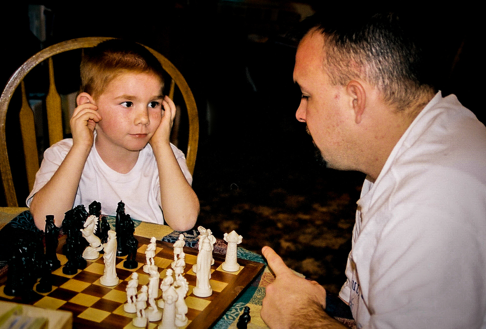 Learning the rules of chess, November, 2001