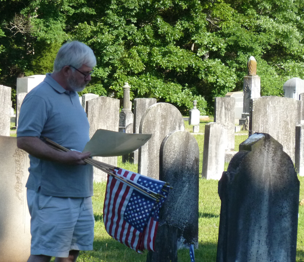 2013-05-24 Placing of Flags in GPC Cemetery38.jpg