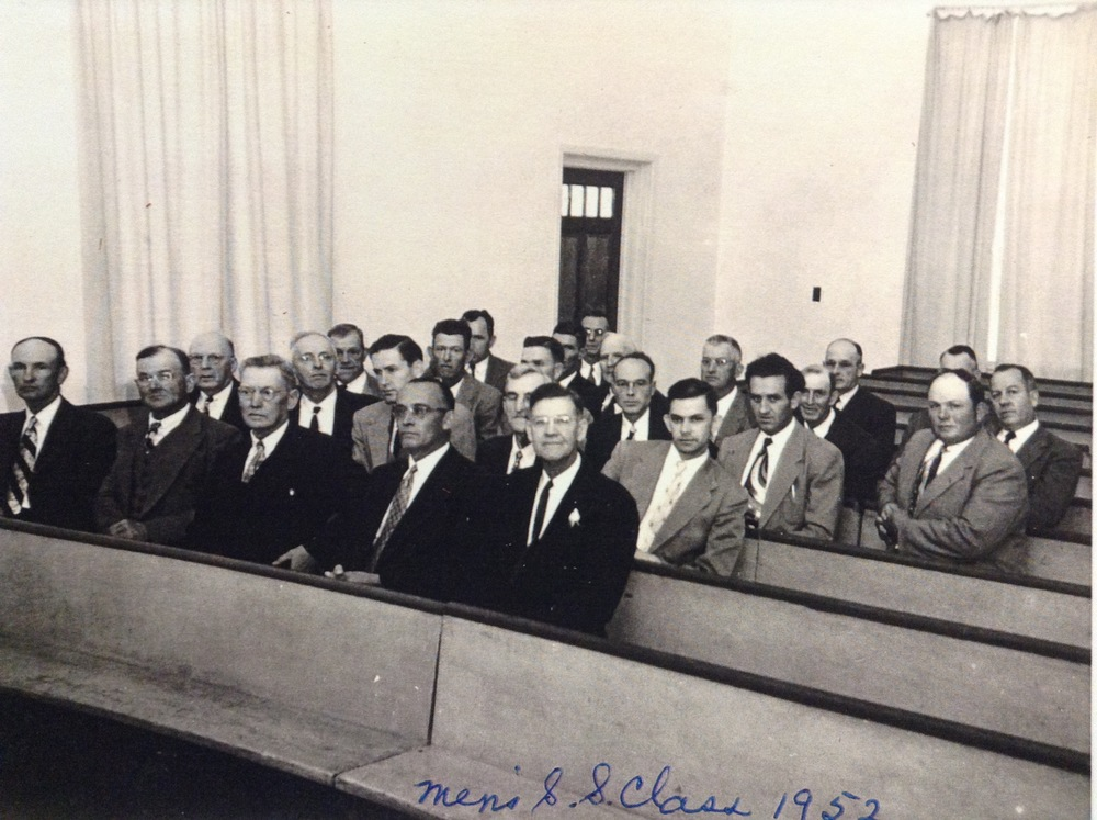Men's Sunday School Class, 1952