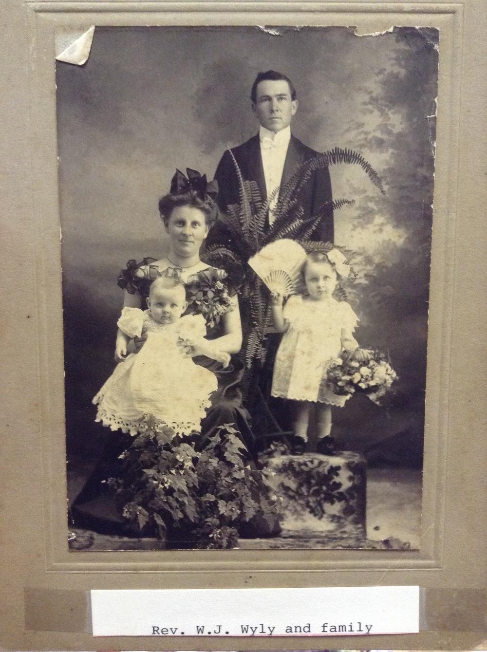 Rev. W.J. Wyly and Family