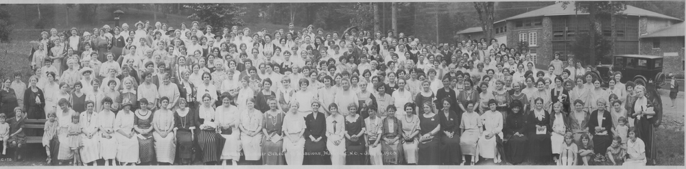 Women's Mission Conference at Montreat Conference Center, July 16, 1923  (click photo to open it in a lightbox)