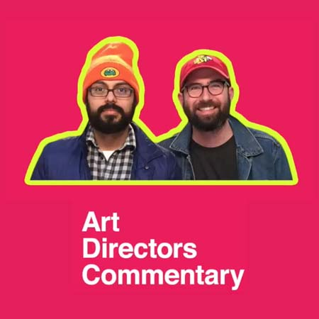 "My art director and I have a YouTube series called ""Art Director's Commentary."" It's like director's commentary, but for commercials."