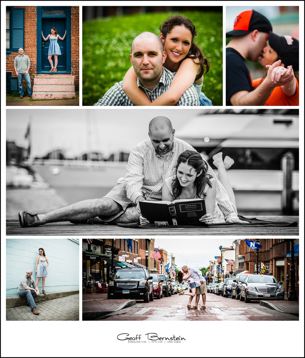 Downtown Annapolis Engagement Session