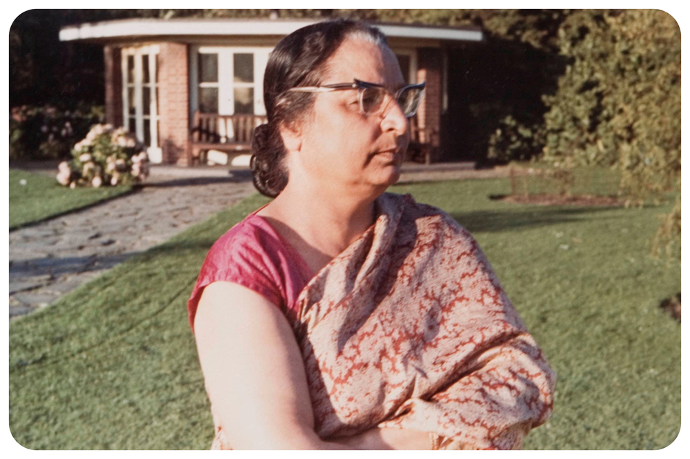 Remy's bhiji (grandmother), London circa 1969