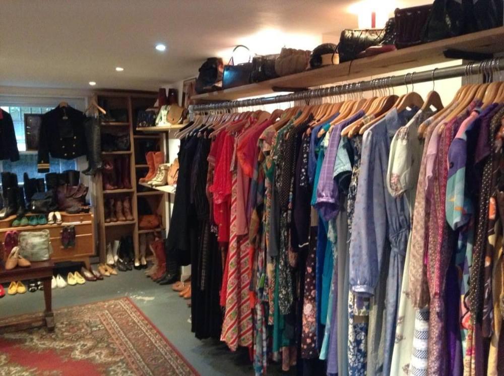 Vintage clothing store on Brick Lane, East London 2013