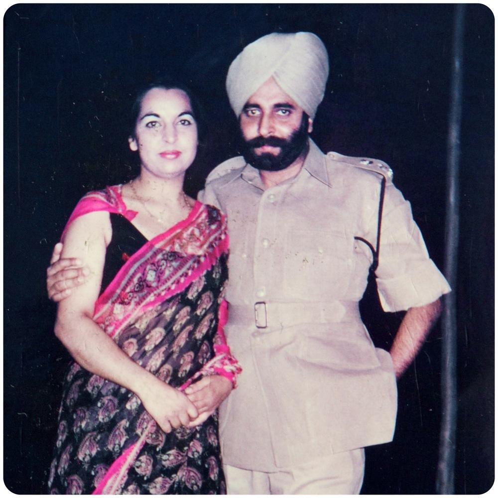 Remy's parents, India circa 1975