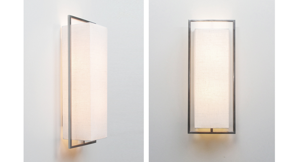 Geometric Sconce, Vertical