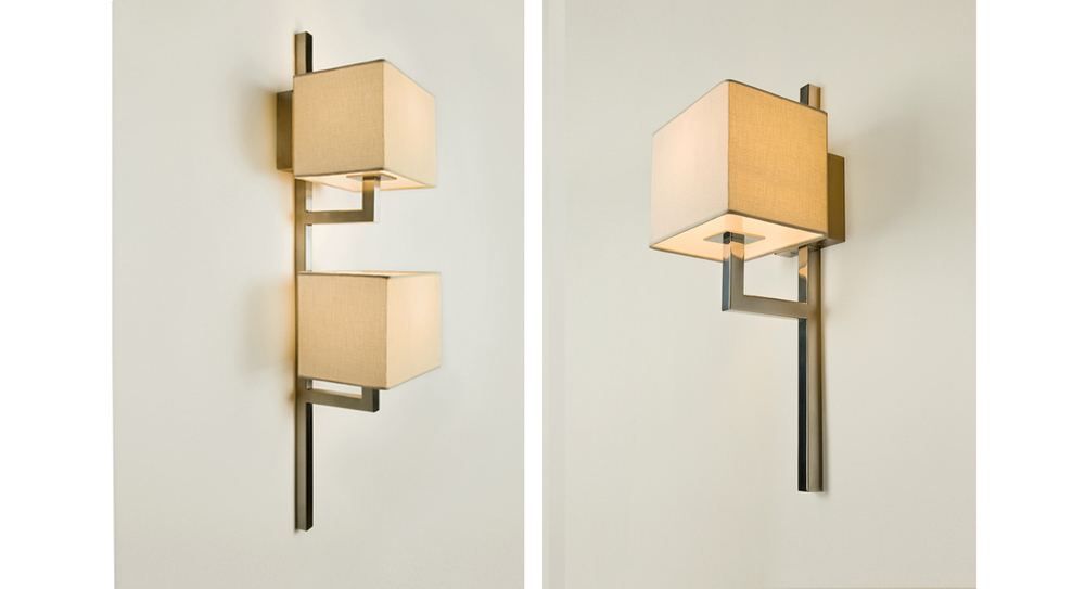 Natalee Double and Single Sconce