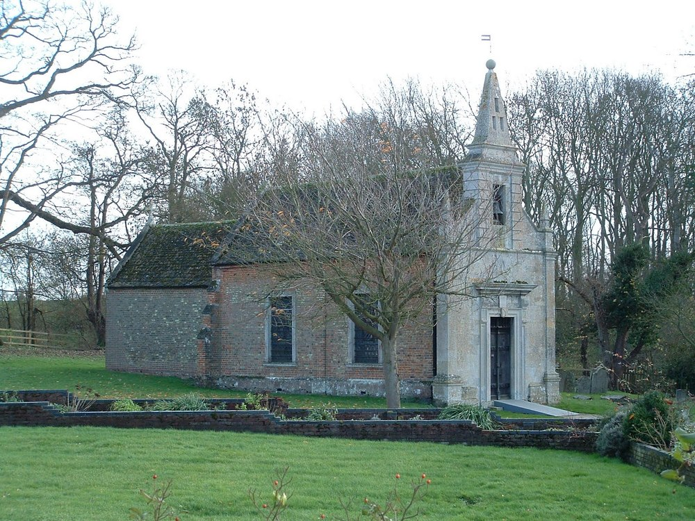 The Church of St. John the Evangelist, Little Gidding, Huntingdonshire, England