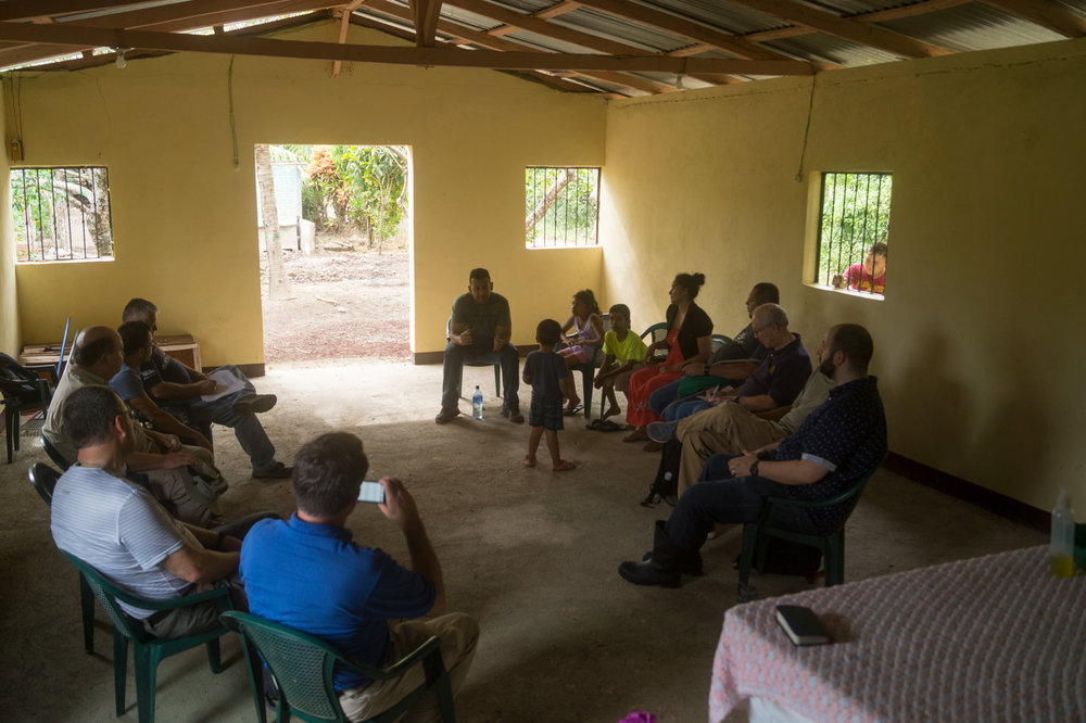 Seria shares about the spiritual life and challenges in El Guasimo.