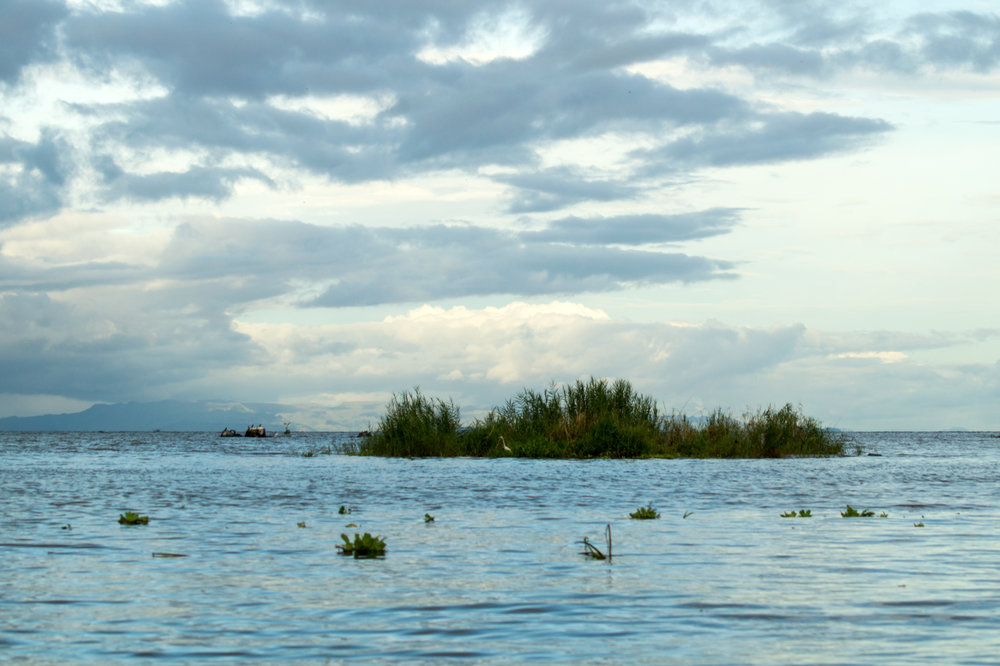 An island on Lake Nicaragua
