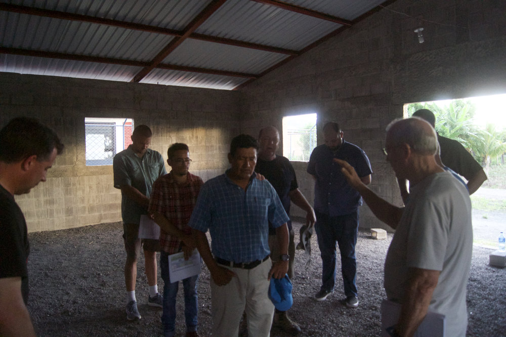 Jose Miguel is temporarily leading a church in town, and requested prayer.