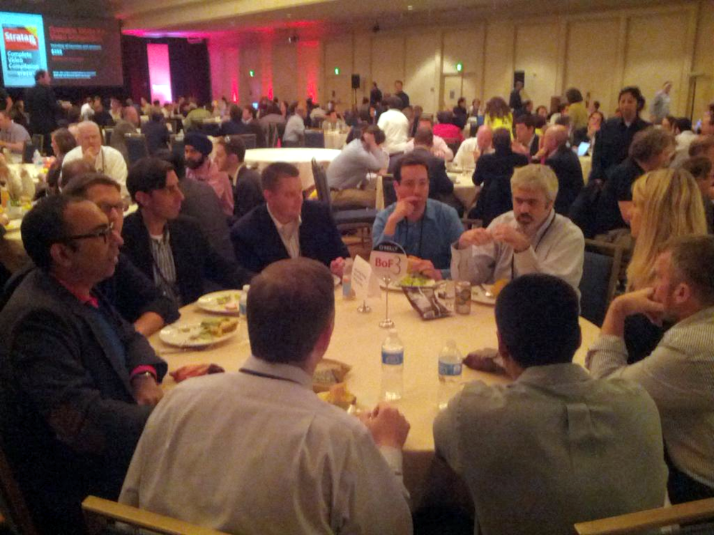 I led a 'Birds of a Feather' session on integrating existing and new streams of health data - Strata Rx 2012