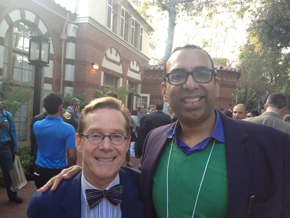 An honour to meet Dr Dave Albert, inventor of AliveCor at USC Body Computing 2012