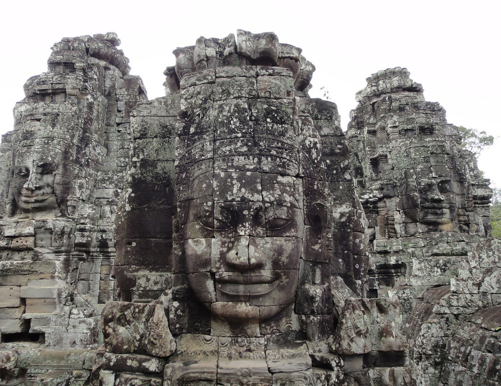 Faces of Bayon (Angkor Wat, Cambodia)