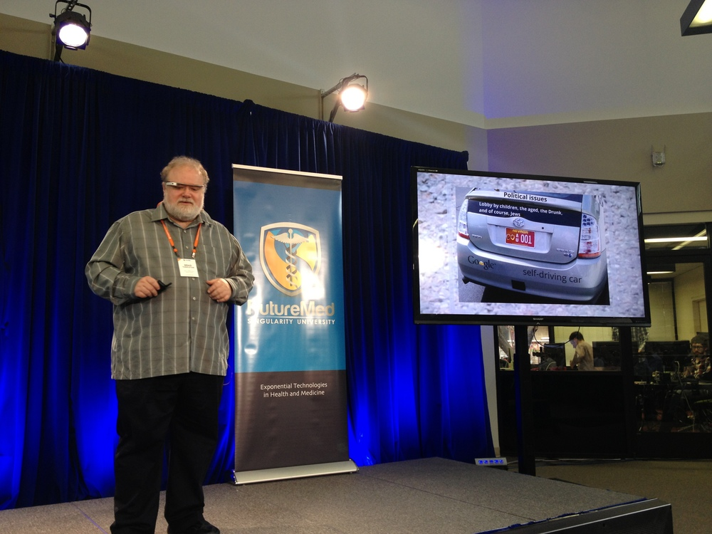 Brad Templeton telling us about self-driving cars
