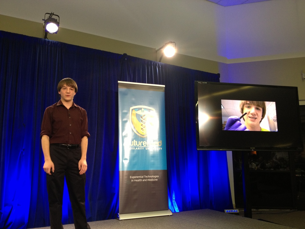 This is where I first met the infamous Jack Andraka
