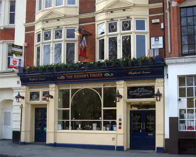 I hired the function room in this London pub for the first two events I ran!