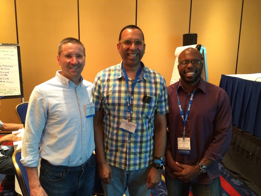 Muki & John from Intel Labs. Awesome people!