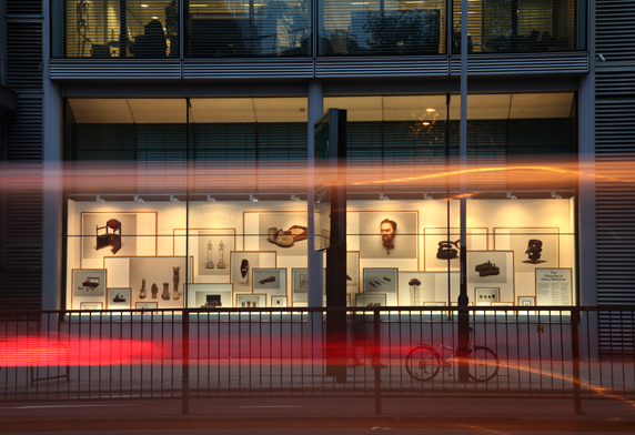 Some recent photography for Nirvana. showcasing their window installation for The Wellcome Trust on Euston Rd.