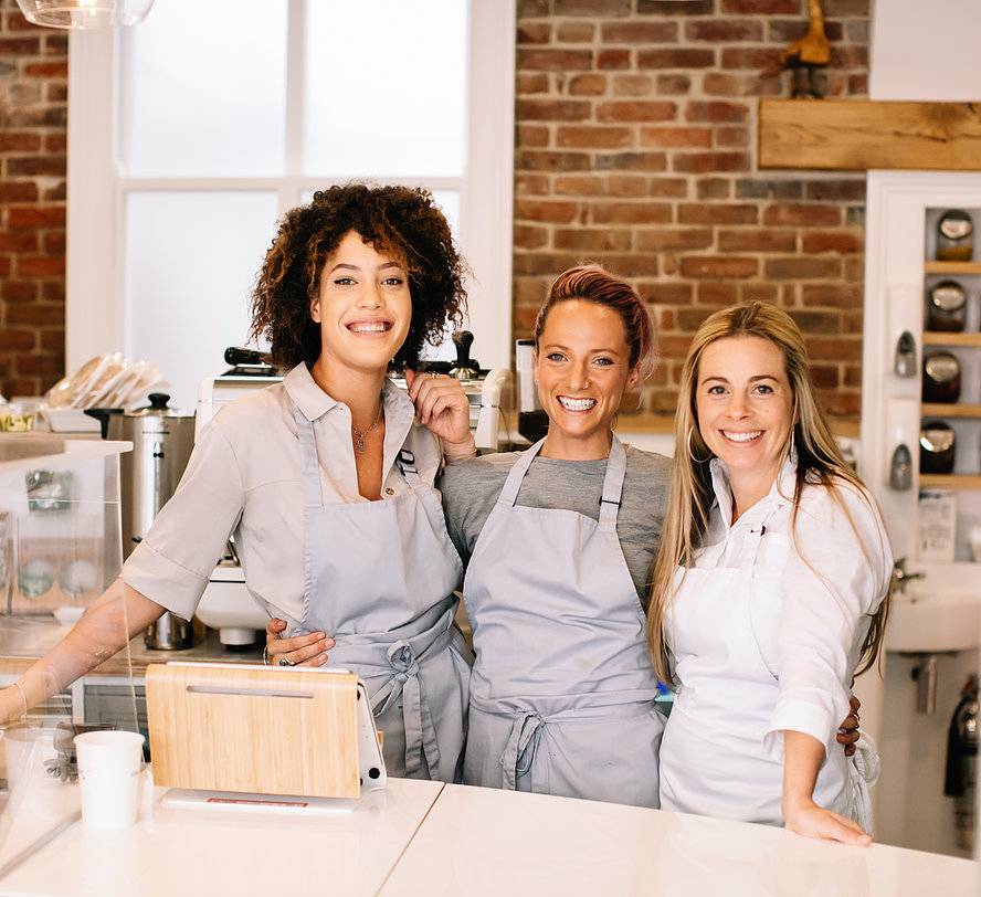 Owner of Nude Food | Lucy Morris (and team)