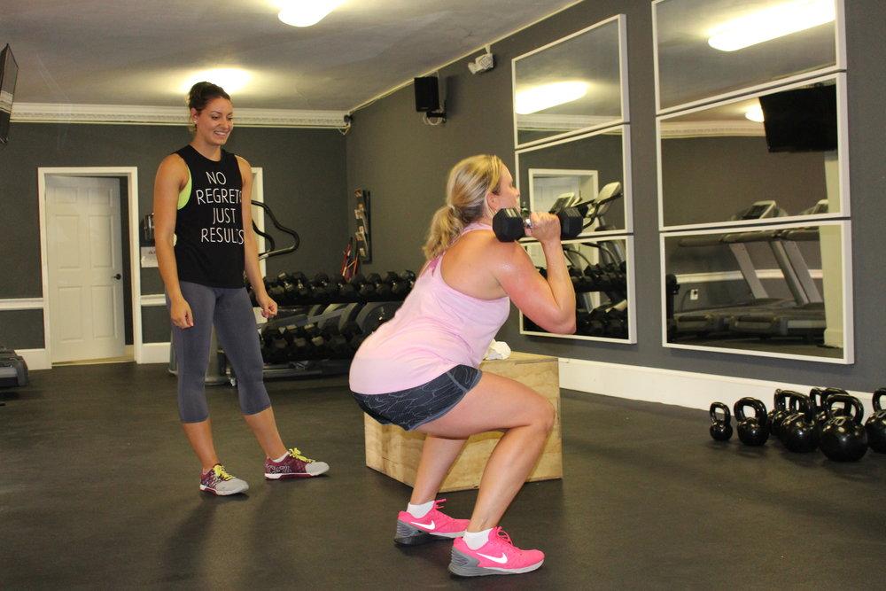 Squat Testing