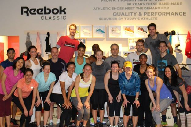 Reebok FitHub Workout 2014