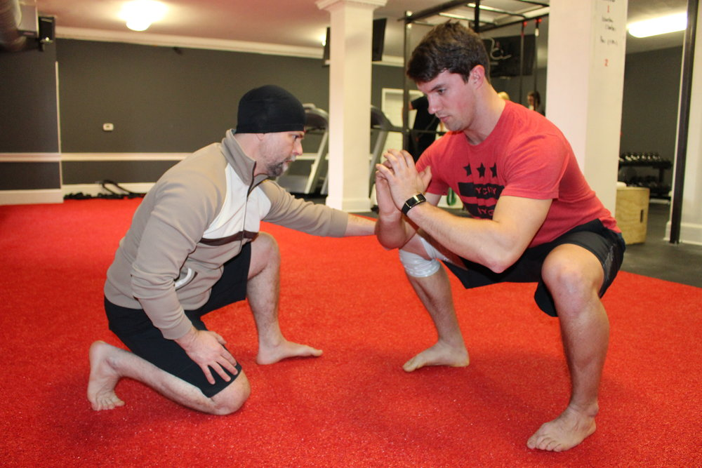 PERSONAL TRAINING - For those who desire a private training regimen.