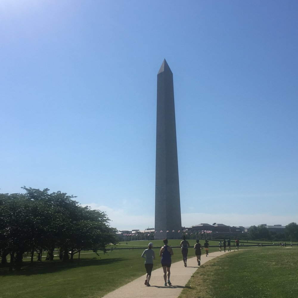 Washington Monument - 6 Miles