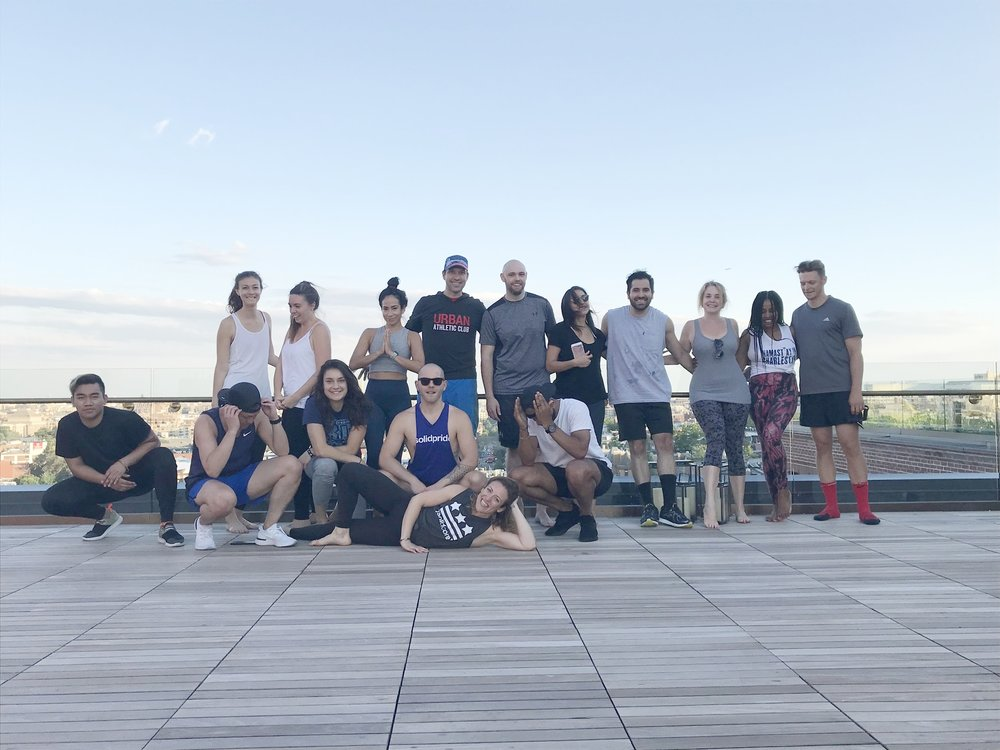 Fitness Influencer Event at The Line Hotel AdMo