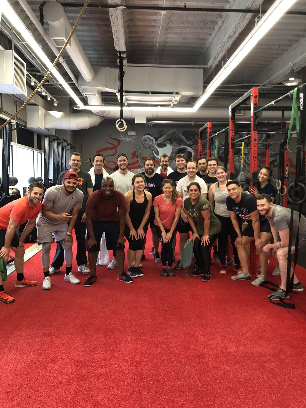 November 2018 | Thanksgiving WOD