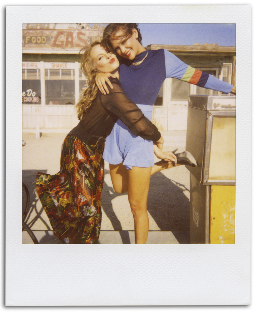 click for more polaroids