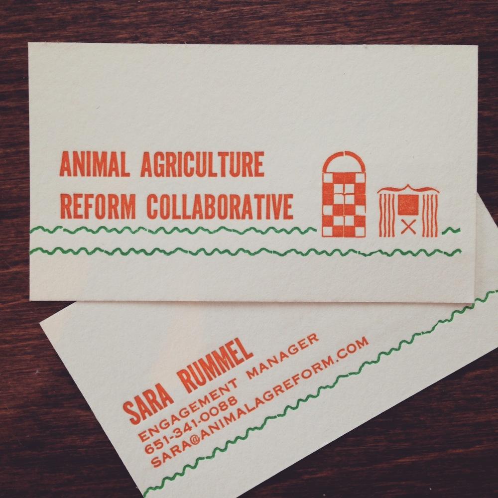 Designing Letterpress Business Cards with Metal Type — Fontlove Studio