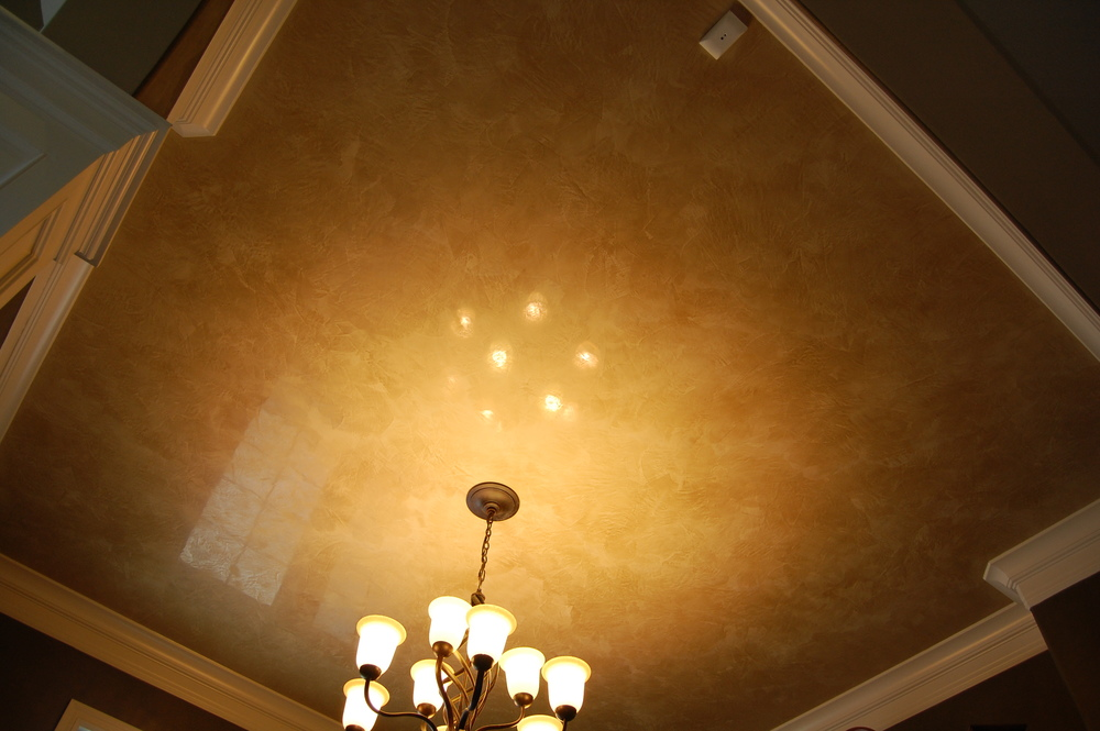 venetian plaster ceiling. Black Bedroom Furniture Sets. Home Design Ideas