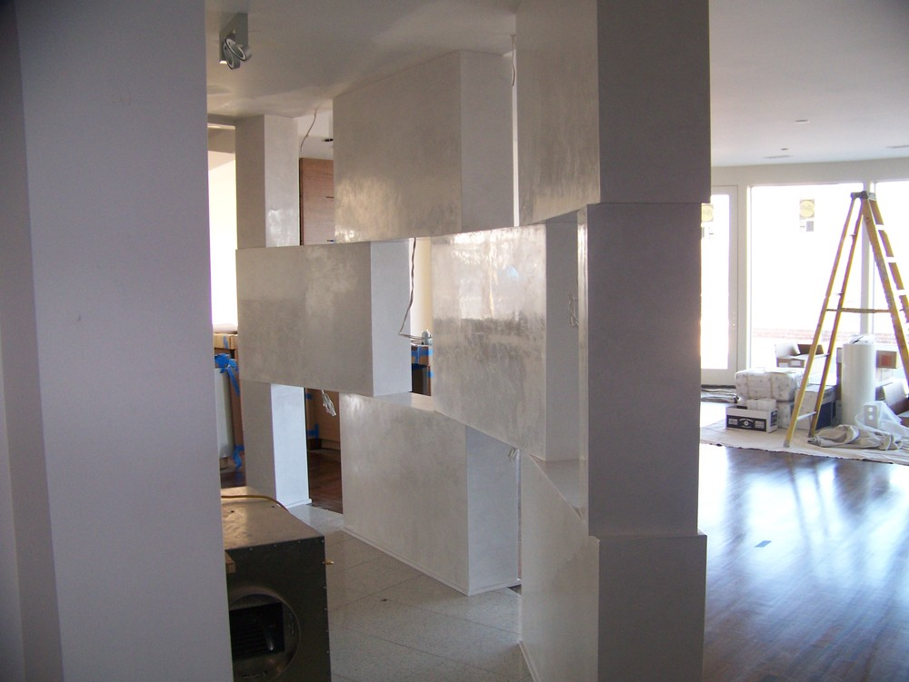 venetian plaster luxe walls. Black Bedroom Furniture Sets. Home Design Ideas