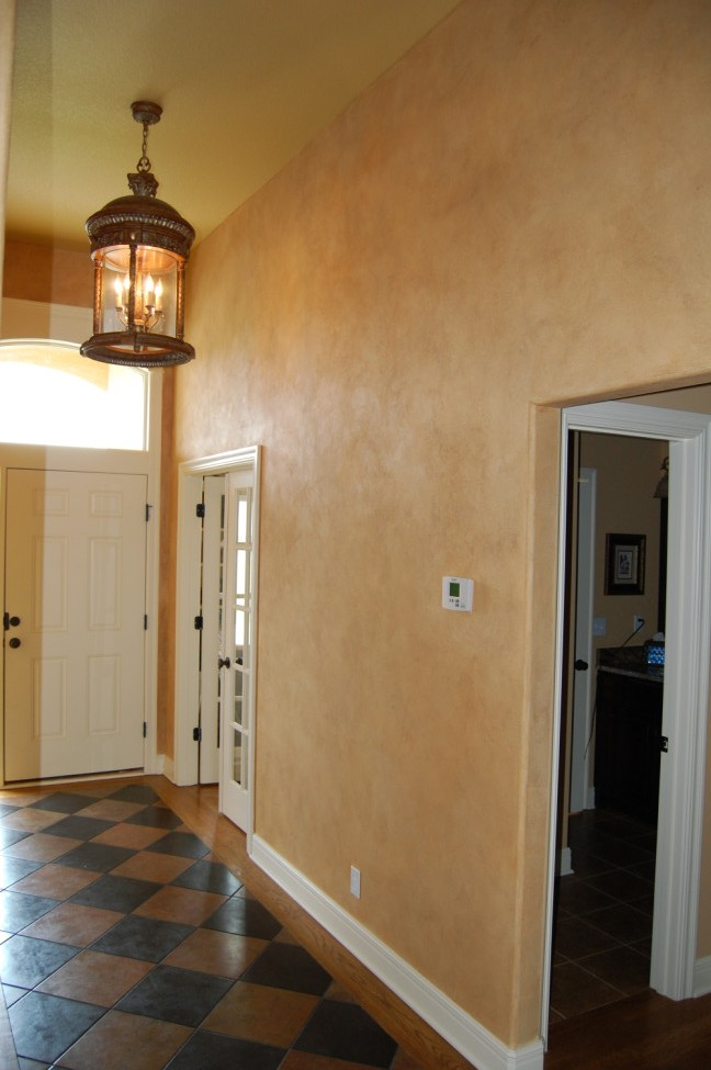 Foyer Plaster Ceiling : Decorative finishes — luxe walls