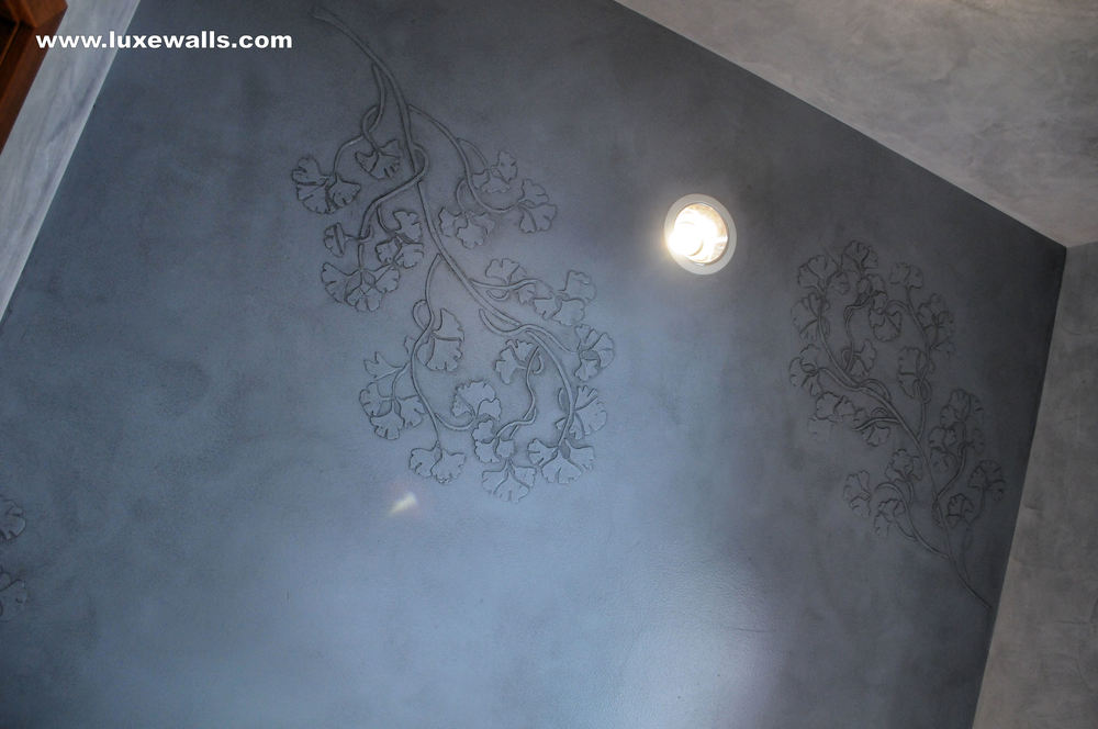 Dimensional Gingko Stencil
