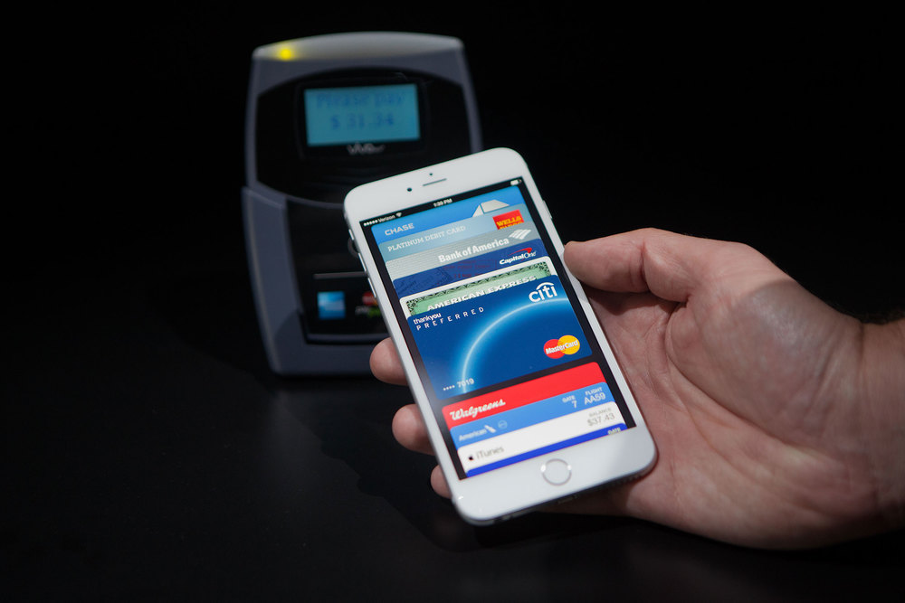 Apple Pay in action. Image credit Wired.com
